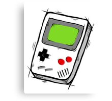 GAME BOY SKETCH Canvas Print