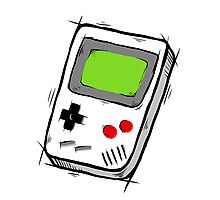 GAME BOY SKETCH Photographic Print
