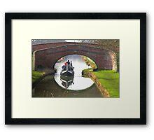 Bridge 95 Braunston (2) Framed Print