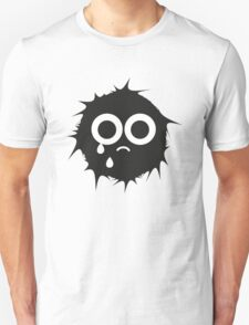 Black and white emoticon Unisex T-Shirt