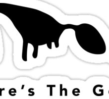 Where's The Goat? (Black) Sticker