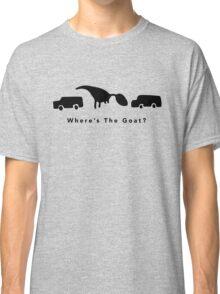 Where's The Goat? (Black) Classic T-Shirt