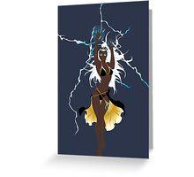 Storm Xmen Greeting Card