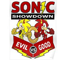Sonic Showdown Poster