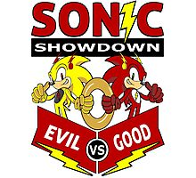 Sonic Showdown Photographic Print