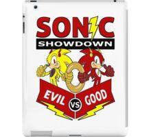 Sonic Showdown iPad Case/Skin