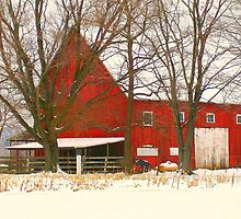 Big Red Barn by Grinch/R. Pross