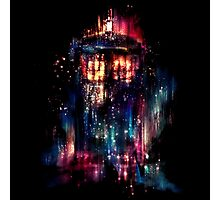 tardis dr who paint  Photographic Print