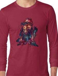 tardis dr who paint  Long Sleeve T-Shirt