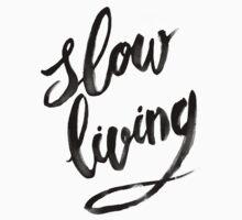 Slow Living - black by Medusa Dollmaker