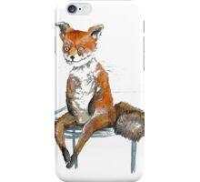 stoned fox iPhone Case/Skin