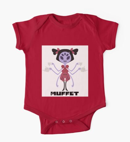 Muffet Color One Piece - Short Sleeve