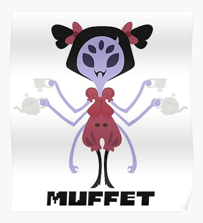 Muffet Color Poster
