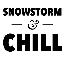 Snowstorm and Chill by typeo