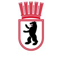 Flag of East Berlin, 1954-1990  Sticker