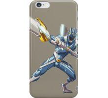 Blue R iPhone Case/Skin