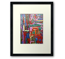 ABSTRACT 303 Framed Print