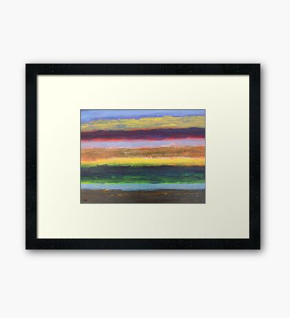 ABSTRACT 407 Framed Print