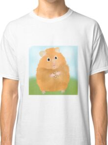 Hamster loves cookie Classic T-Shirt