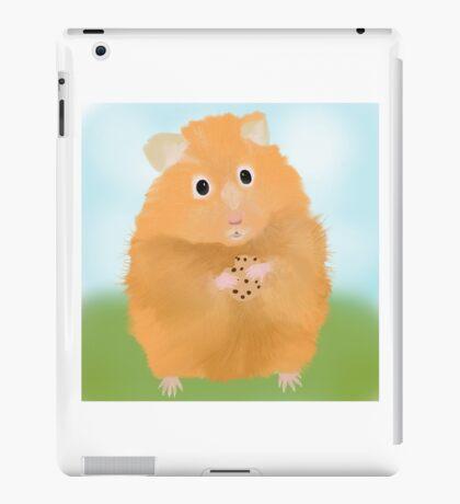 Hamster loves cookie iPad Case/Skin