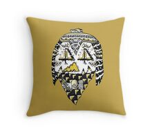 Ancient Thug Throw Pillow