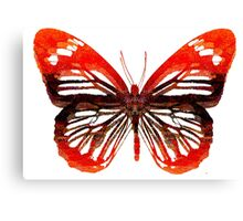 Butterfly abstract Canvas Print