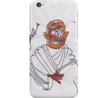 30 sec Gandhi. iPhone Case/Skin