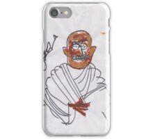 30 sec Gandhi. iPhone Case/Skin
