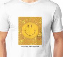 Van Gogh Happy Face Unisex T-Shirt