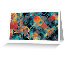 Circles of Fire Greeting Card
