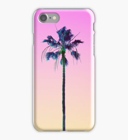 Palm Tree Outrun iPhone Case/Skin