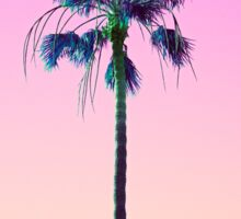 Palm Tree Outrun Sticker