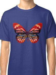 Butterfly Abstract Psychedelic Classic T-Shirt