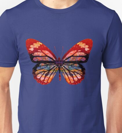 Butterfly Abstract Psychedelic Unisex T-Shirt