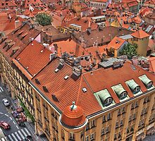 Prague From Above by theatanas