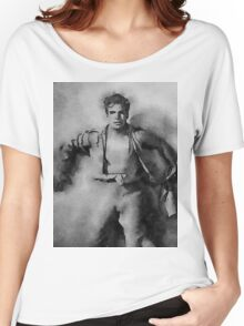 Buster Crabbe as Flash Gordon Women's Relaxed Fit T-Shirt
