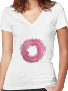 Sprinkles? Women's Fitted V-Neck T-Shirt