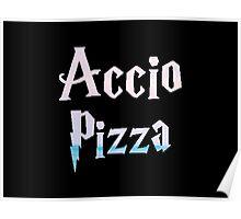 Accio Pizza Poster