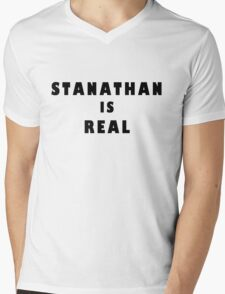 Stanathan is real  Mens V-Neck T-Shirt