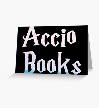 Accio Books Greeting Card
