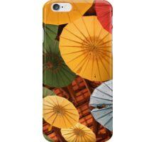 Hanging Umbrellas in Malang, Indonesia iPhone Case/Skin