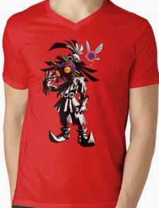 Skullkid Mens V-Neck T-Shirt