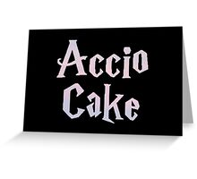 Accio Cake Greeting Card