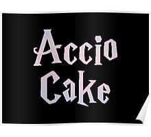 Accio Cake Poster