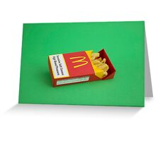 Pack of Fries Greeting Card