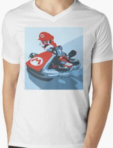 Mario Kart 8  Mens V-Neck T-Shirt