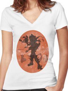 Jak Precursor Women's Fitted V-Neck T-Shirt