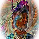 Lady in a Swirl by suzannem73