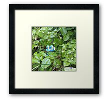Froakie in the Forest Framed Print