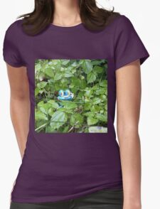 Froakie in the Forest Womens Fitted T-Shirt